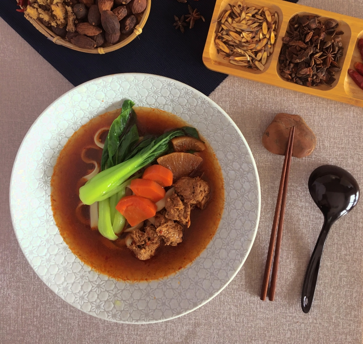 素食紅燒牛肉麵 (修)