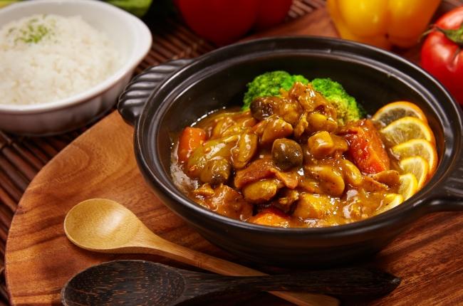 培燻咖哩雞