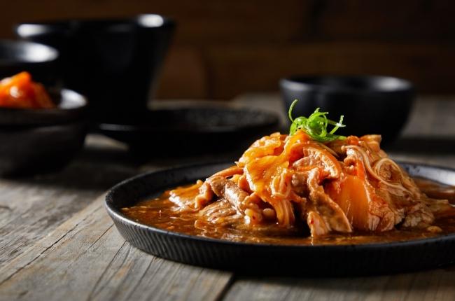 韓式泡菜燒珍肉
